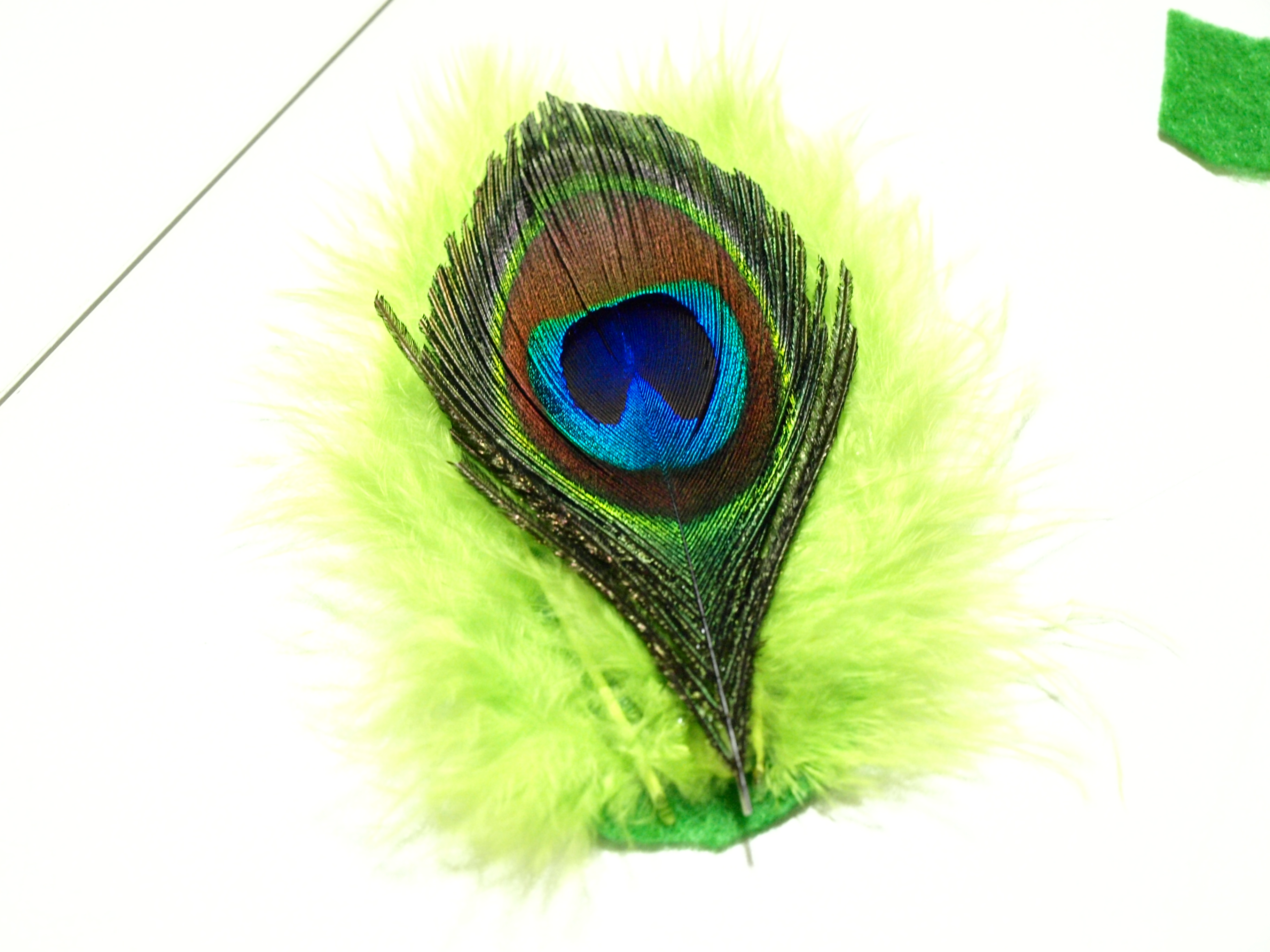 How To Make A Vintage Inspired Feather Hair Clip For Under