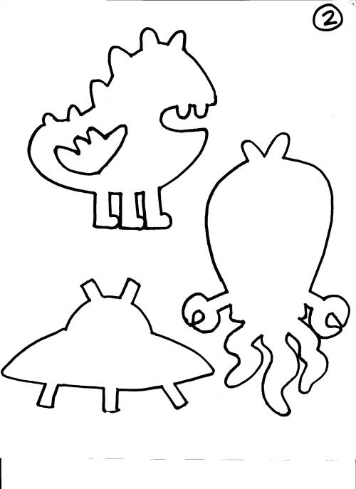 Monster and Alien Template 2