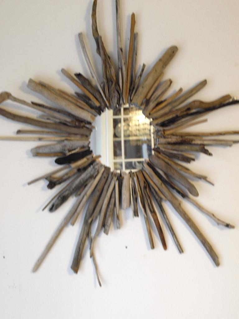 Diy Driftwood Starburst Mirror Tutorial See Cate Create