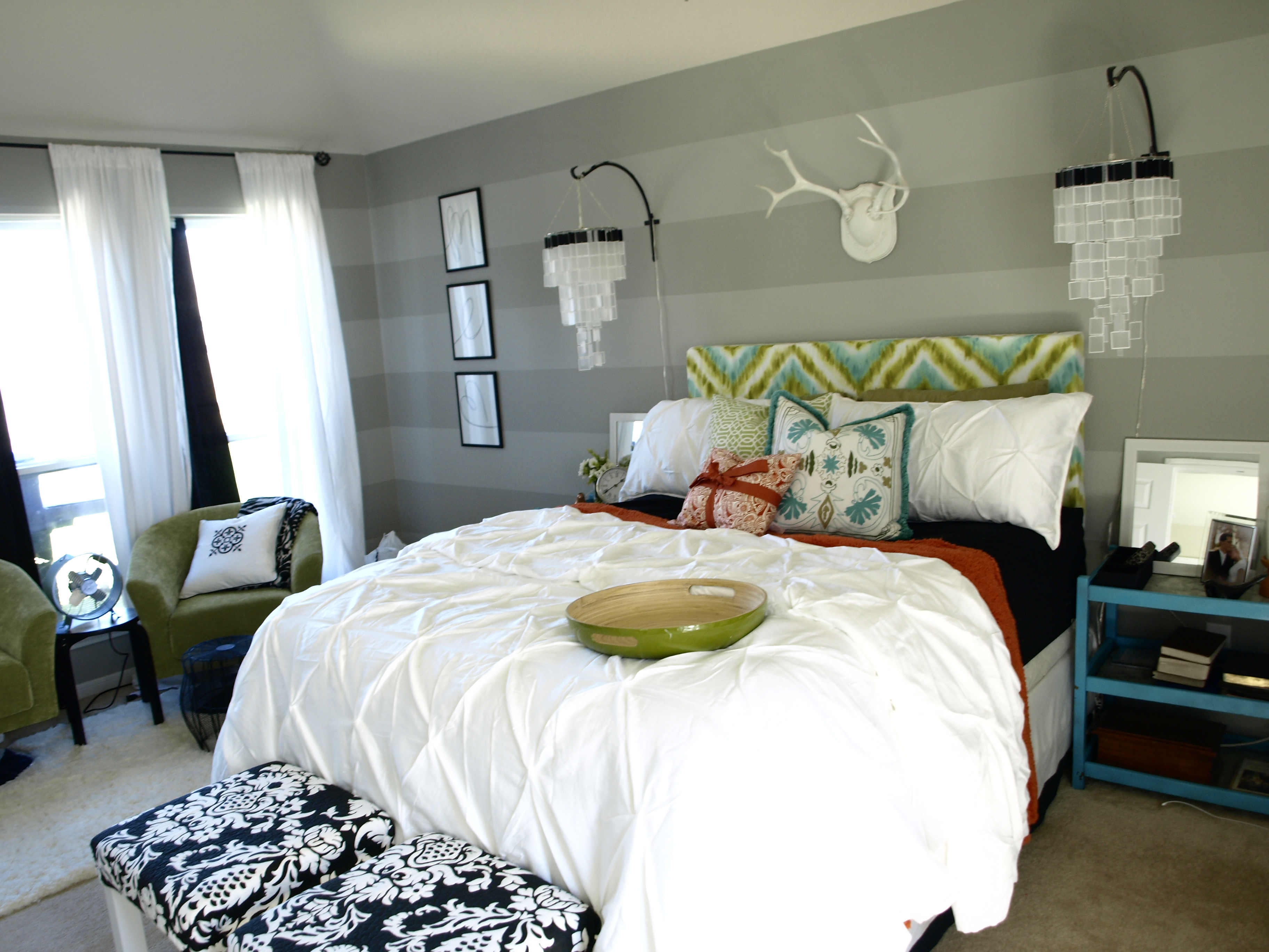 Master Bedroom Makeover By See Cate Create DIY Show Off