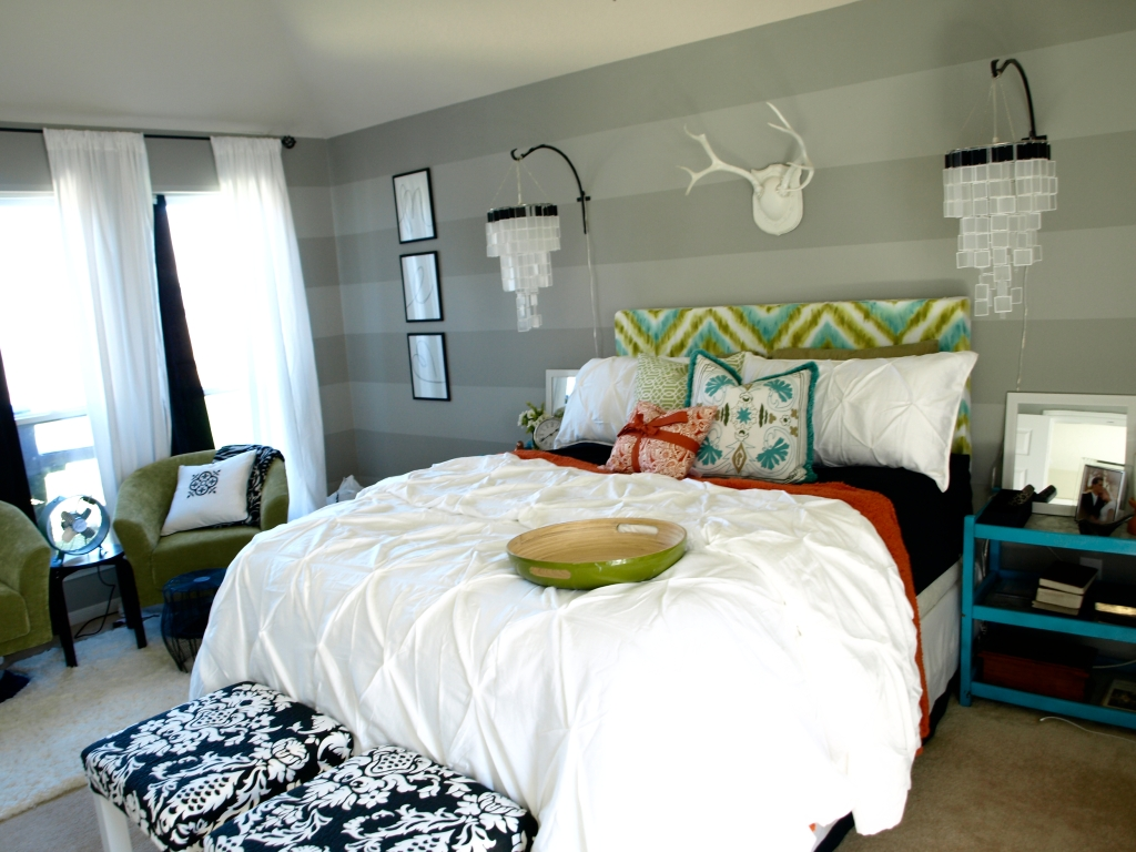 master bedroom makeover by see cate create diy show off diy