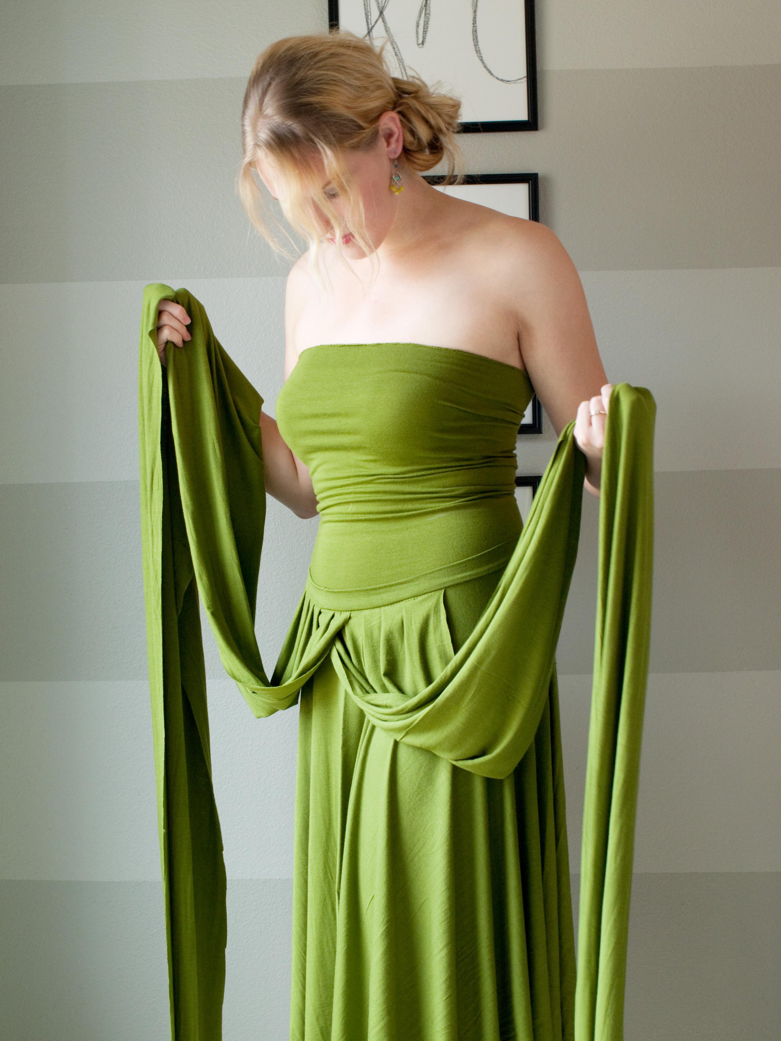 Как сшить платья трансформеры фото