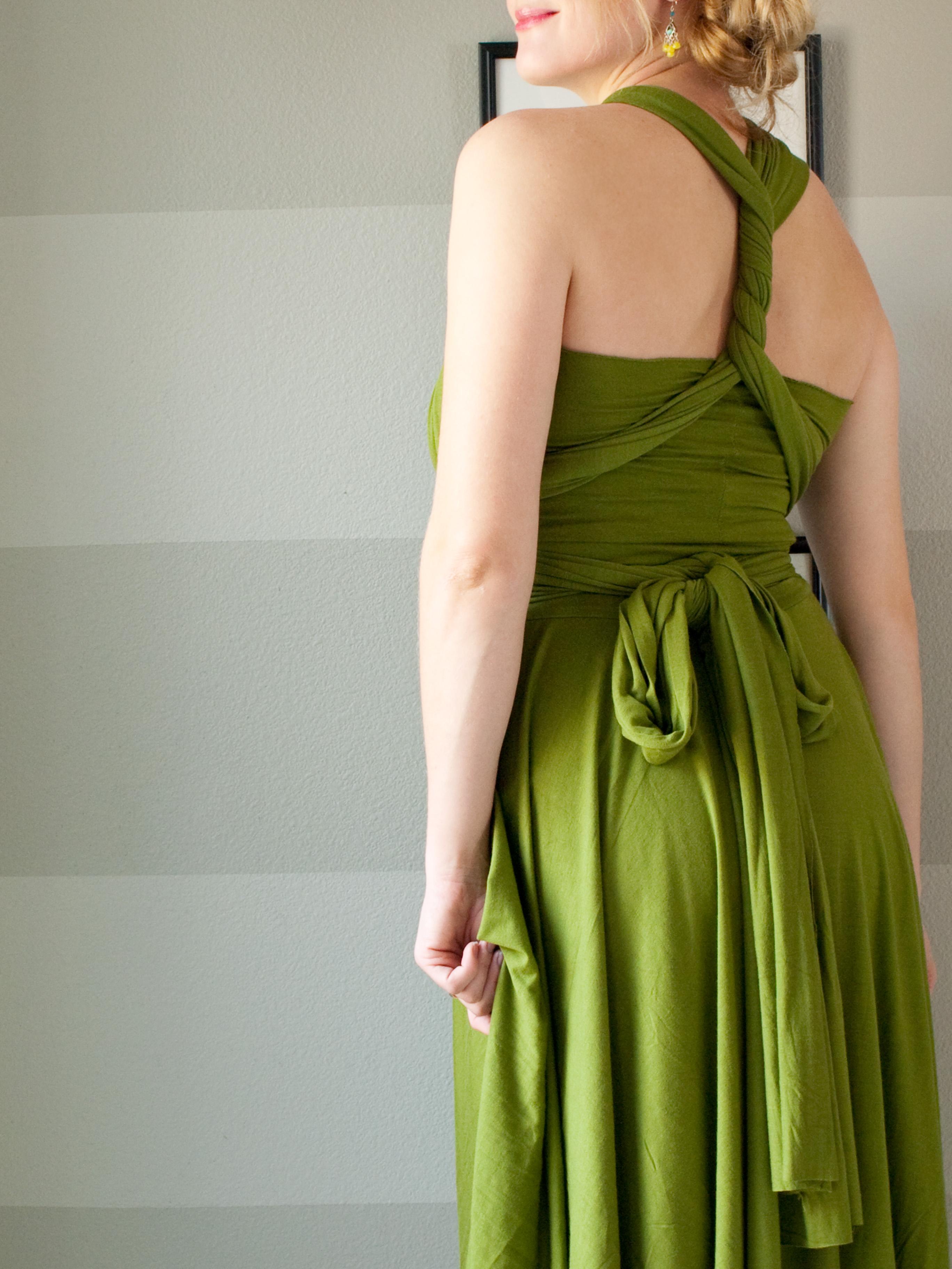 Интересное платье своими руками фото